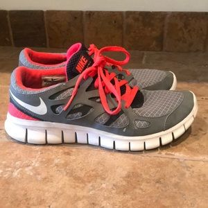 Excellent Nike Free Run 2 Sneakers Shoes 8.5 $88!!